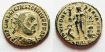 Ancient Coins - ORIGINAL DESERT PATINA: LICINIUS I AE 3