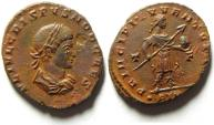 Ancient Coins - BEAUTIFUL CRISPUS AE FOLLIS , TRIER MINT