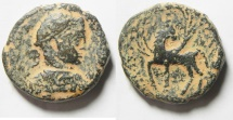 Ancient Coins - Syria, Decapolis. Antiochia ad Hippum under Elagabalus (AD 218-222). AE 25mm, 12.88gm.