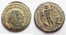 Ancient Coins - LICINIUS I AE 3 . NICE DESERT PATINA
