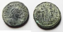 Ancient Coins - CONSTANTINE II AE 3 . AS FOUND. ALEXANDRIA