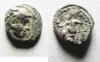 Ancient Coins - GREEK. ALEXANDER THE GREAT SILVER OBOL. VERY RARE