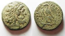 Ancient Coins - PTOLEMAIC EMPIRE. PTOLEMY III AE 34. TYRE MINT