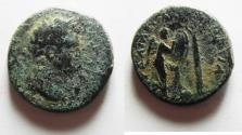 Ancient Coins - JUDAEA, Judaea Capta Series. Titus, as Caesar. 69-79 AD. Æ20