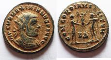 Ancient Coins - MAXIMIANUS AE ANTONINIANUS. ORIGINAL DESERT PATINA