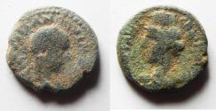 Ancient Coins - Samaria, Caesarea Maritima. Severus Alexander. A.D. 222-235. Æ 18