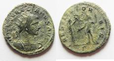 Ancient Coins - BEAUTIFUL AS FOUND AURELIAN AE ANTONINIANUS