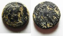 Ancient Coins - PTOLEMAIC KINGDOM. PTOLEMY II AE 23. ALEXANDER'S THE GREAT HEAD PTOLEMAIC KINGDOM. PTOLEMY II AE 22. ALEXANDER'S THE GREAT HEAD