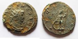 Ancient Coins - NEEDS CLEANING: GALLIENUS AE ANTONINIANUS.