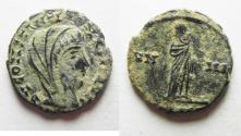 Ancient Coins - CONSTANTINE I AE 4 . POSTHUMOUS ISSUE. DESERT PATINA