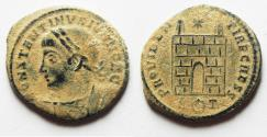 Ancient Coins - ORIGINAL DESERT PATINA. CONSTANTINE II AE 3 . ROME MINT