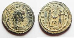 Ancient Coins - CARUS AE ANTONINIANUS. ORIGINAL DESERT PATINA
