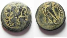 Ancient Coins - PTOLEMAIC KINGDOM. PTOLEMY II AE 30. SIDON MINT