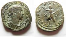 Ancient Coins - SEVERUS ALEXANDER. (AD 222-235) AE Sestertius