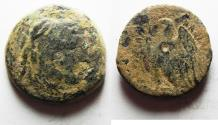 Ancient Coins - PTOLEMAIC KINGDOM. PTOLEMY II AE 23. ALEXANDER'S THE GREAT HEAD