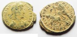 Ancient Coins - ORIGINAL DESERT PATINA. CONSTANTIUS II AE CENT.