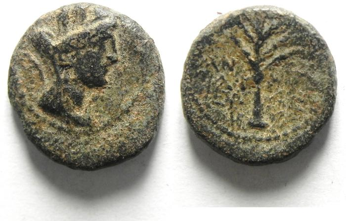 Ancient Coins - PHOENCIA , TYRE , 1ST CENT.B.C AE 16
