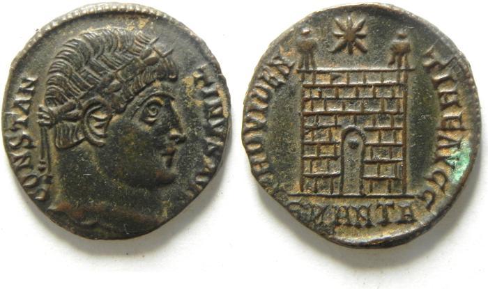 Ancient Coins - CHOICE CONSTANTINE I AE 3