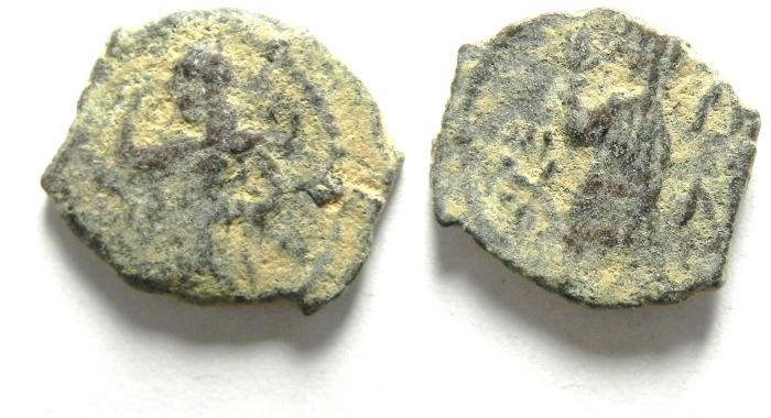 Ancient Coins - NABATAEAN KINGDOM OF PETRA , ARETAS IV