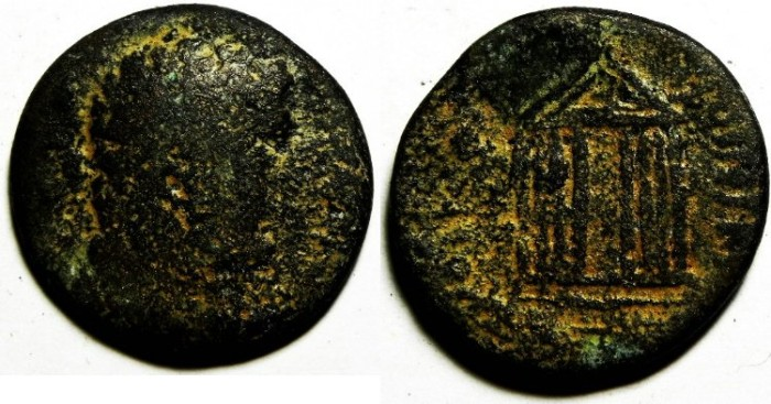 Ancient Coins - PHOENICIA , TYRE AE 24