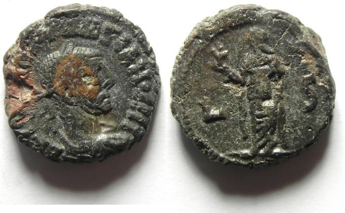 Ancient Coins - ROMAN , EGYPT , DIOCLETIAN POTIN TETRADRACHM