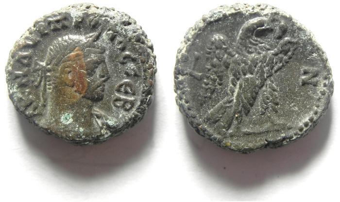 Ancient Coins - EGYPT , ALEXANDRIA , PROBOS POTIN TETRADRACHM ,NICE QUALITY