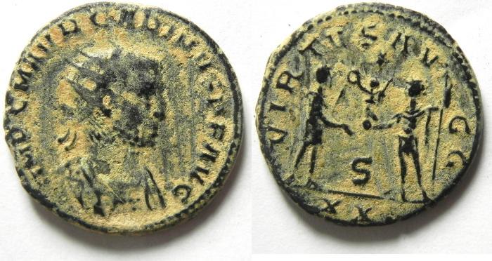 Ancient Coins - Carinus Æ Antoninianus ,  AS FOUND