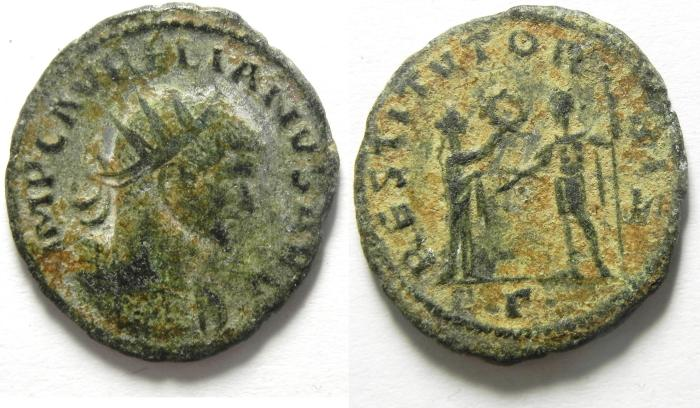 Ancient Coins - AURELIAN ANTONINIANUS , NICE AS FOUND