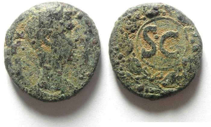 Ancient Coins - SYRIA, Seleukis and Pieria. Antioch. AUGUSTUS AE 26 AS FOUND