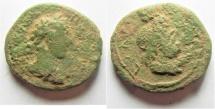 Ancient Coins - Judaea. Aelia Capitolina under Commodus (AD 177-192). AE 27mm, 13.94g.