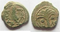 JUDAEA. PROCURATORS, M. AMBIBULUS. 9-12 AD. AE PRUTAH