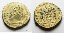 Ancient Coins - CONSTANTINE I THE GREAT AE 3 . DESERT PATINA