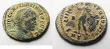 Ancient Coins - CONSTANTINE I AE FOLLIS. NICE AS FOUND