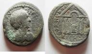Ancient Coins - DECAPOLIS. DIUM. GETA, BEAUTIFUL DETAILS . AE 27