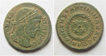 Ancient Coins - CONSTANTINE I THE GREAT AE 3 . ROME MINT