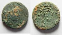 Ancient Coins - PHOENICIA. TYRE. AE 14. 1ST CENTURY A.D