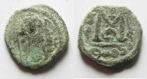 World Coins - ARAB-BYZANTINE AE FALS. DAMASCUS MINT