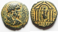 Ancient Coins - Arabia. Bostra under Septimius Severus (AD 193-211). AE (26 mm, 13.14g). Struck in civic year 104 (AD 209/10).