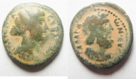 Ancient Coins - Decapolis. Gadara under Faustina Junior (AD 147-175). AE 22mm, 6.72g.