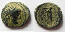 Ancient Coins - SELEUKID KINGDOM. DEMETRIUS III AE 22