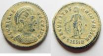 Ancient Coins - Roman Imperial, Helena, AE3, 329 A.D . CHOICE COIN AS FOUND, DESERT PATINA