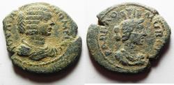 Ancient Coins - ARABIA, Rabbathmoba. Julia Domna. Augusta, AD 193-217. Æ 31