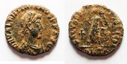 Ancient Coins - ROMAN AE 4 . VALENTINIAN I