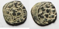 World Coins - CRUSADERS. BILLON DINIER