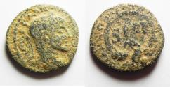 Ancient Coins - JUDAEA. CAESAREA MARITIMA. SEVERUS ALEXANDER AE 20