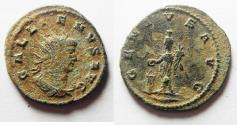 Ancient Coins - AS FOUND GALLIENUS AE ANTONINIANUS