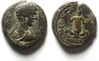 Ancient Coins - Roman Provincial. Syria, Decapolis. Deion (DIUM) under Geta, AD 209-211 , AE 23 , BEAUTIFULL AND HIGHLY ATTRACTIVE COIN
