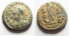 Ancient Coins - LICINIUS II AE FOLLIS. AS FOUND