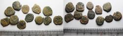 Ancient Coins - TWELVE Ancient Biblical Widow's Mite Coins