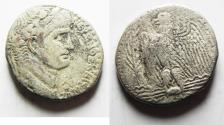 Ancient Coins - BIBLICAL NERONIAN SELA: Antioch. Nero. AD 54-68. AR Tetradrachm